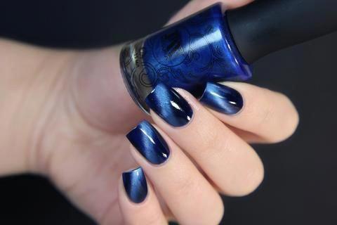 masura  cobalt damassè magnetic holidaynails in 2020