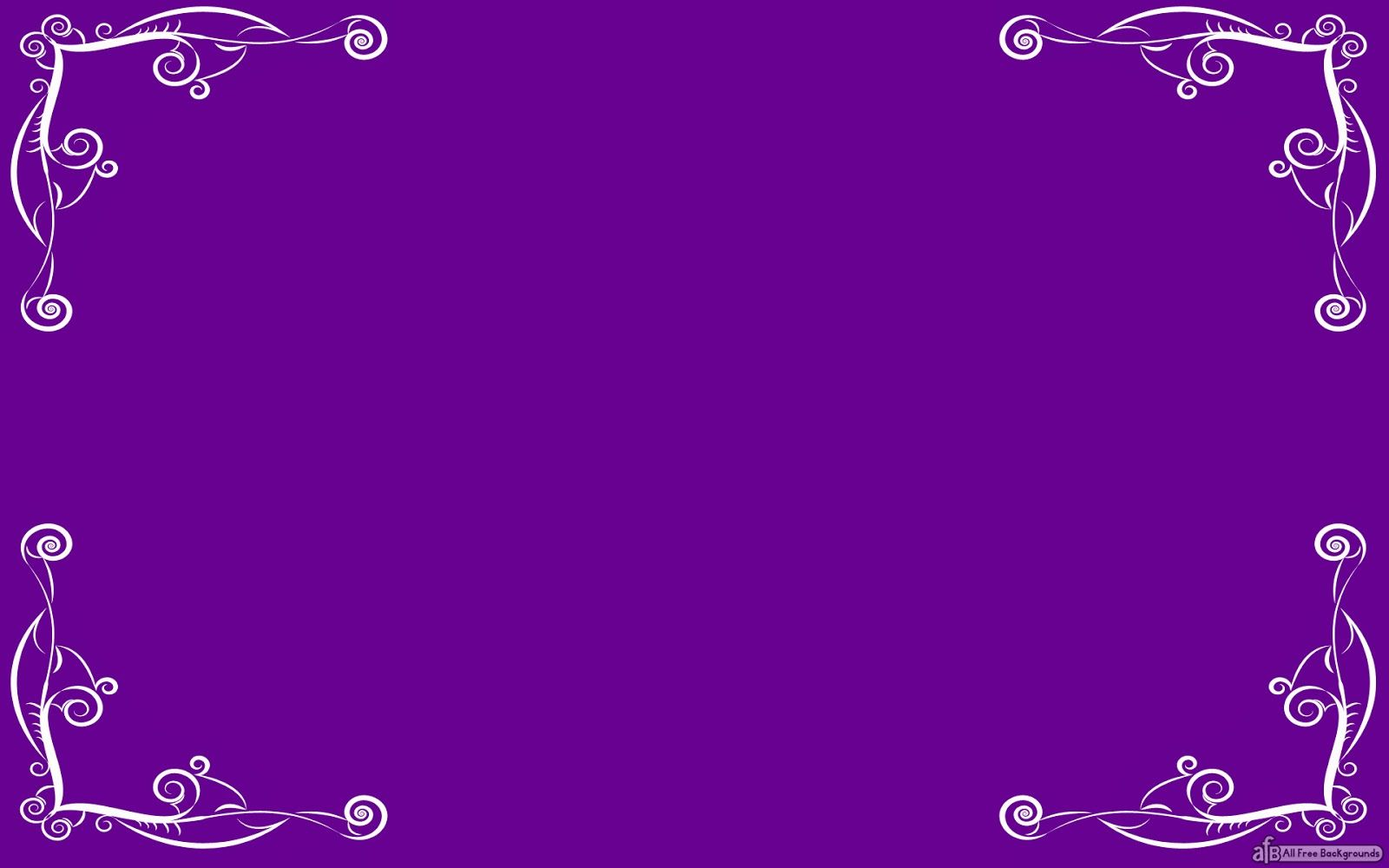 Purple Elegant Borders Simple Elegant Border Backgrounds For