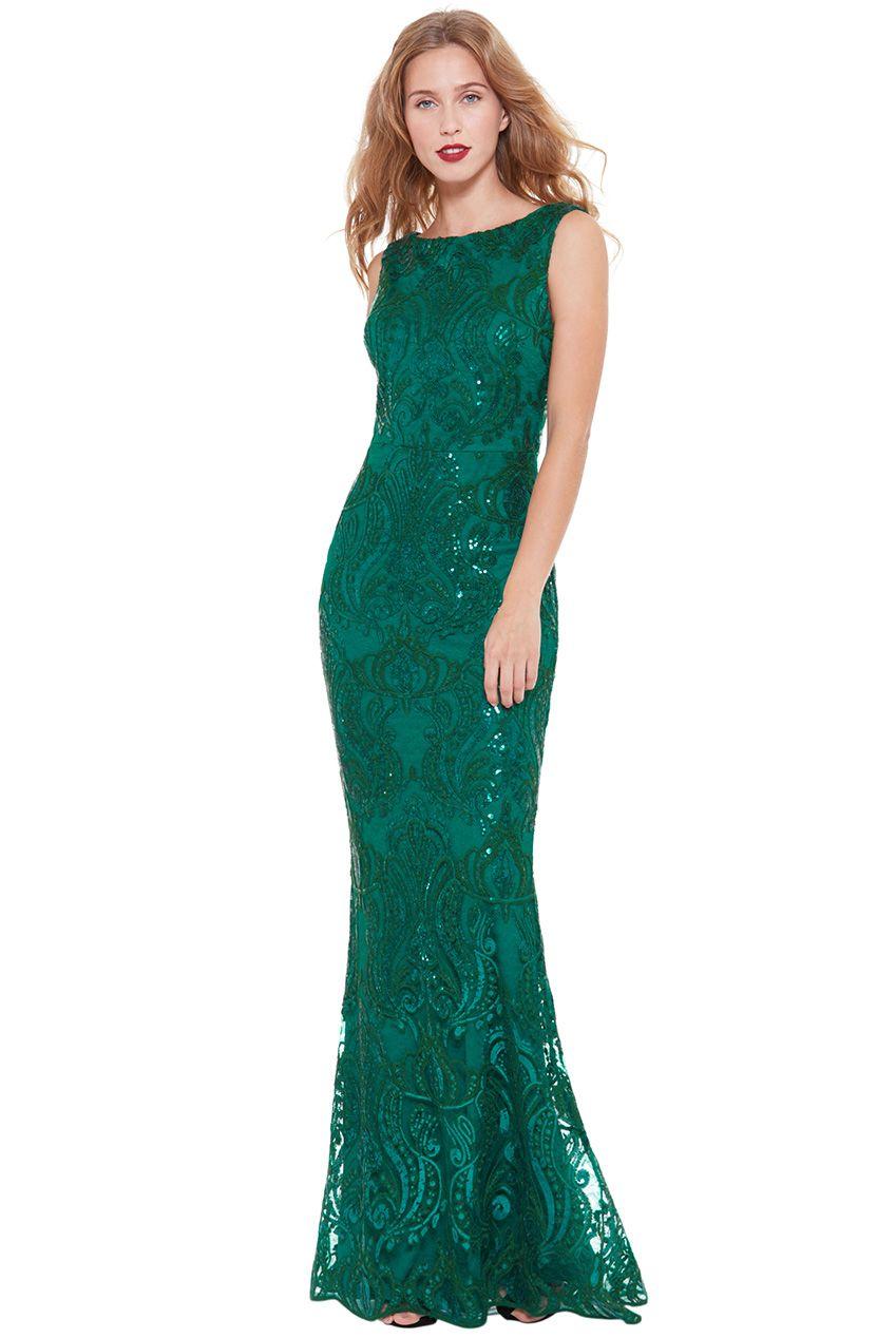 dc24b67099c Nádherné luxusní dlouhé společenské šaty z kolekce značky GODDIVA pro  slavnostní příležitosti - ples