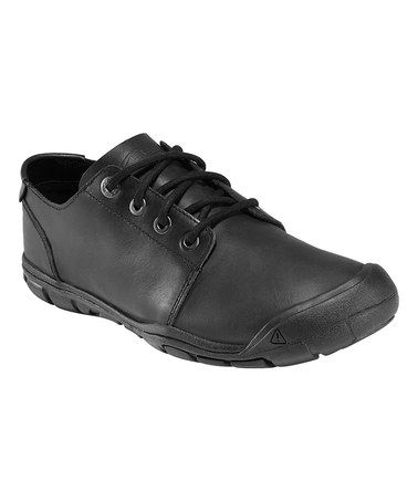 This Black Bleecker CNX Leather Lace-Up Shoe is perfect! #zulilyfinds