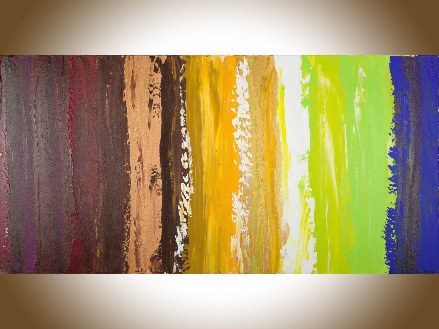 Colorful Abstract painting 48\
