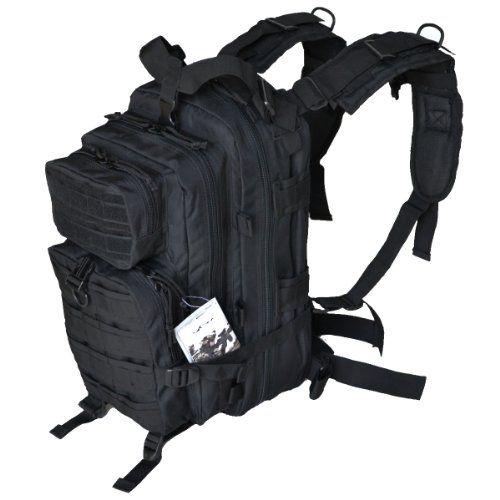 MEDIUM TRANSPORT PACK BLACK Backpack Free Ship  MOLLE Tactical Hunting Camping