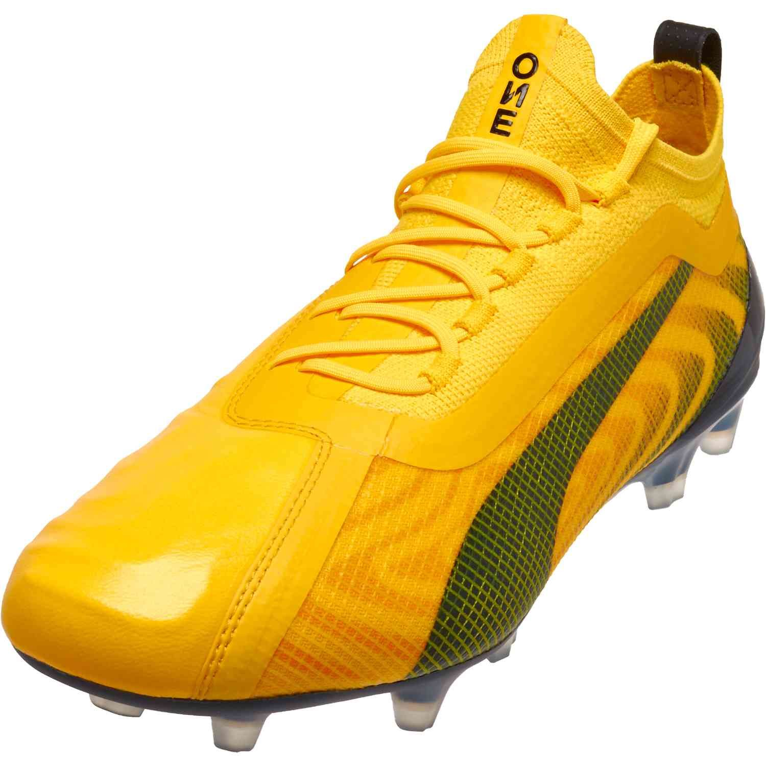 Puma One 20 1 Fg Spark Pack In 2020 Puma Soccer Shoes Sport Shoes