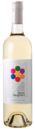 Seven daughters white winemakers blend! Awesome!  Mom is one of 7 girls, so a perfect gift for them!