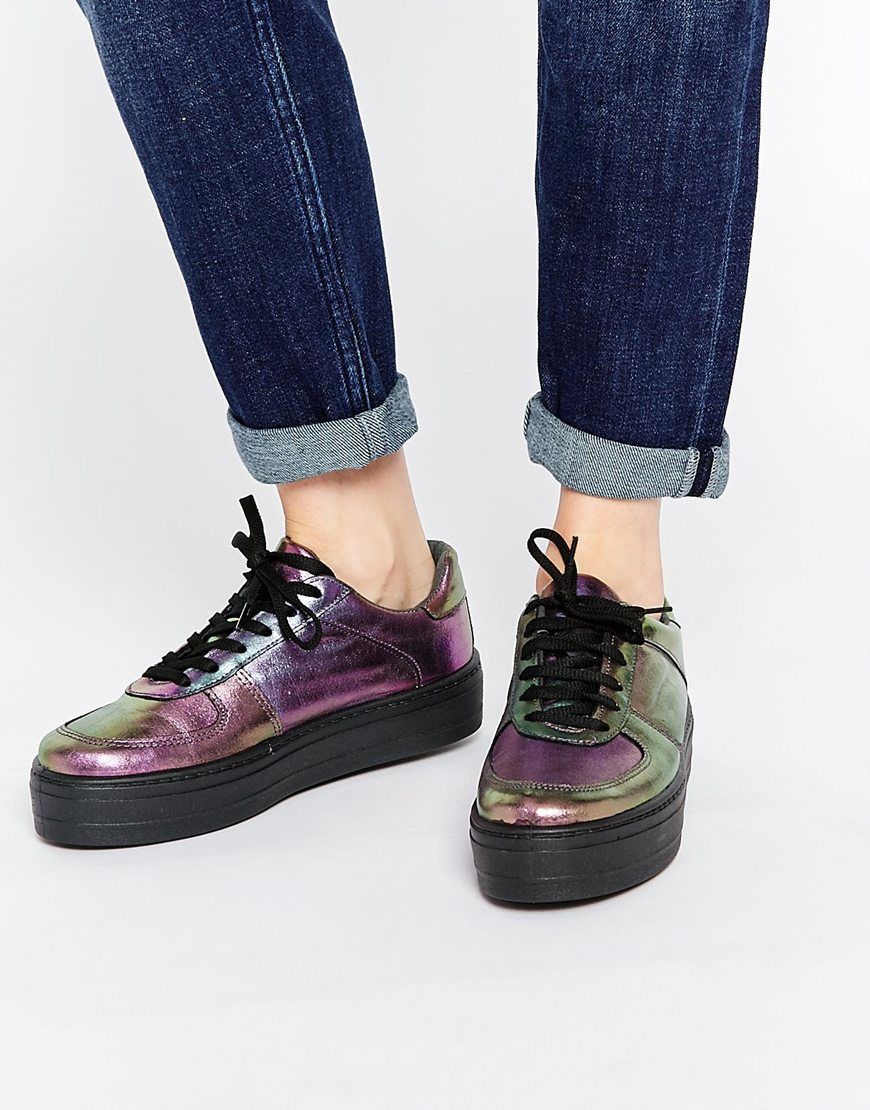 Buy Women Shoes / Asos Daysleeper Flatform Trainers