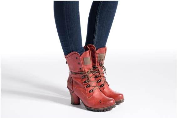Bottines et boots Adelle Mustang shoes vue portées