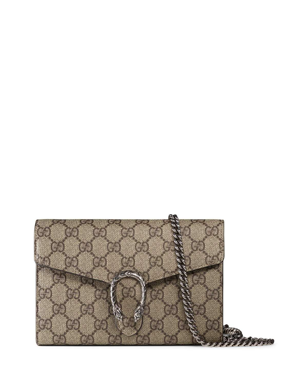 713d5e01030 Dionysus GG Supreme Mini Chain Bag | Handbag Luv | Bags, Gucci ...