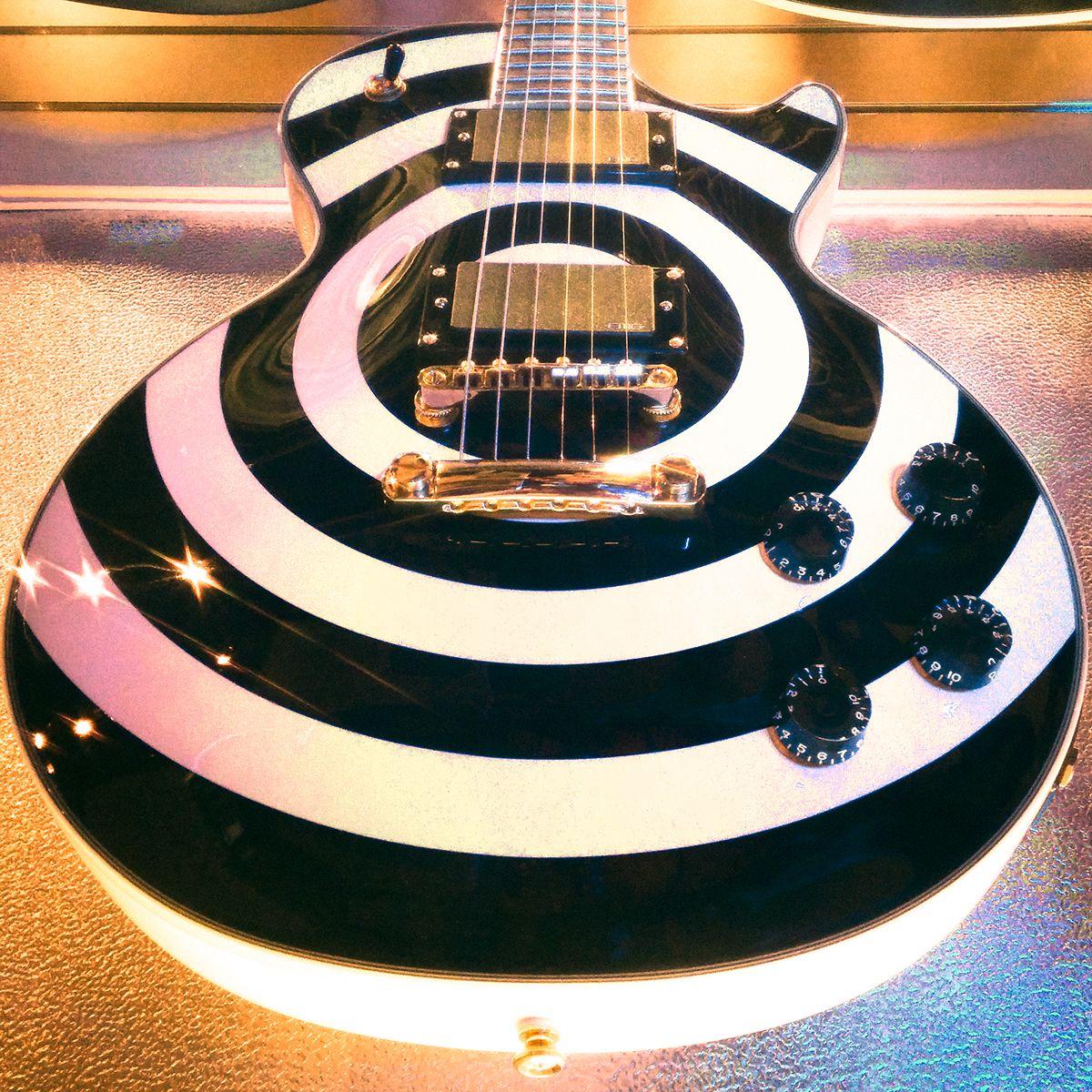 #epiphone Zakk Wylde Les Paul Custom Plus Bullseye #guitar #electricguitar