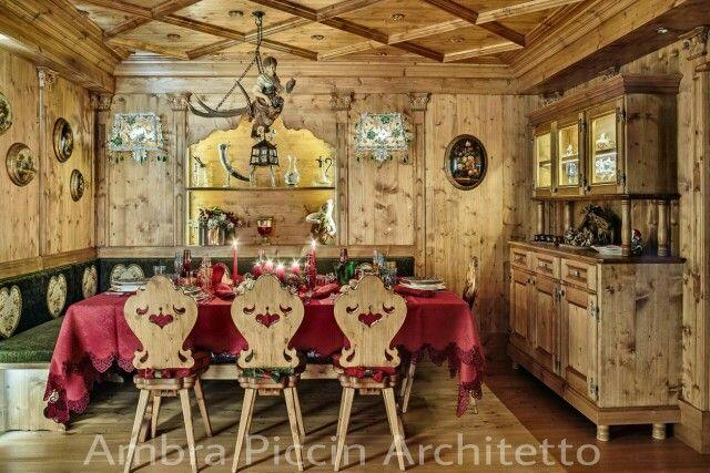 Tradizione ampezza calda accogliente e classica questa for Nuova casa classica bad aibling