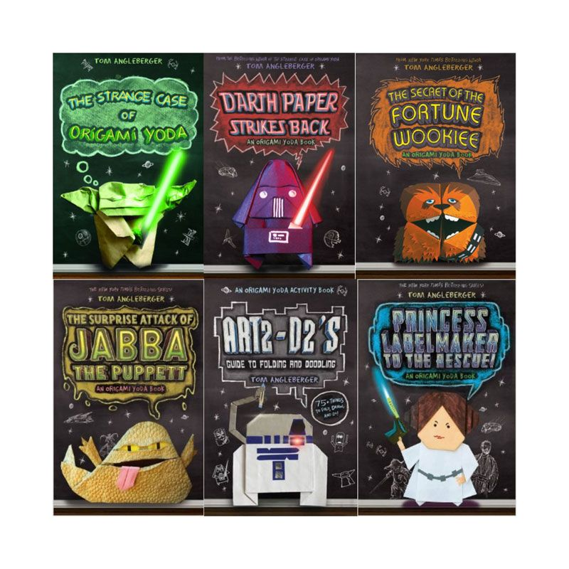 diary of a wimpy kid meets star wars universe with origami