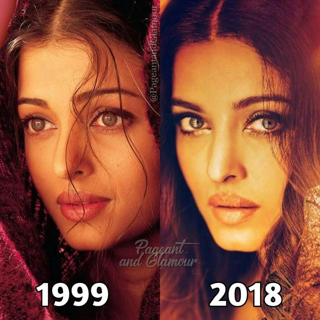 Then And Now Aishwarya Rai Bachchan Hollywood Actor Indian Aesthetic