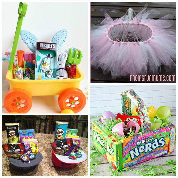 Instead of grabbing the same old wicker easter basket from the unique easter basket ideas for kids crafty morning negle Image collections