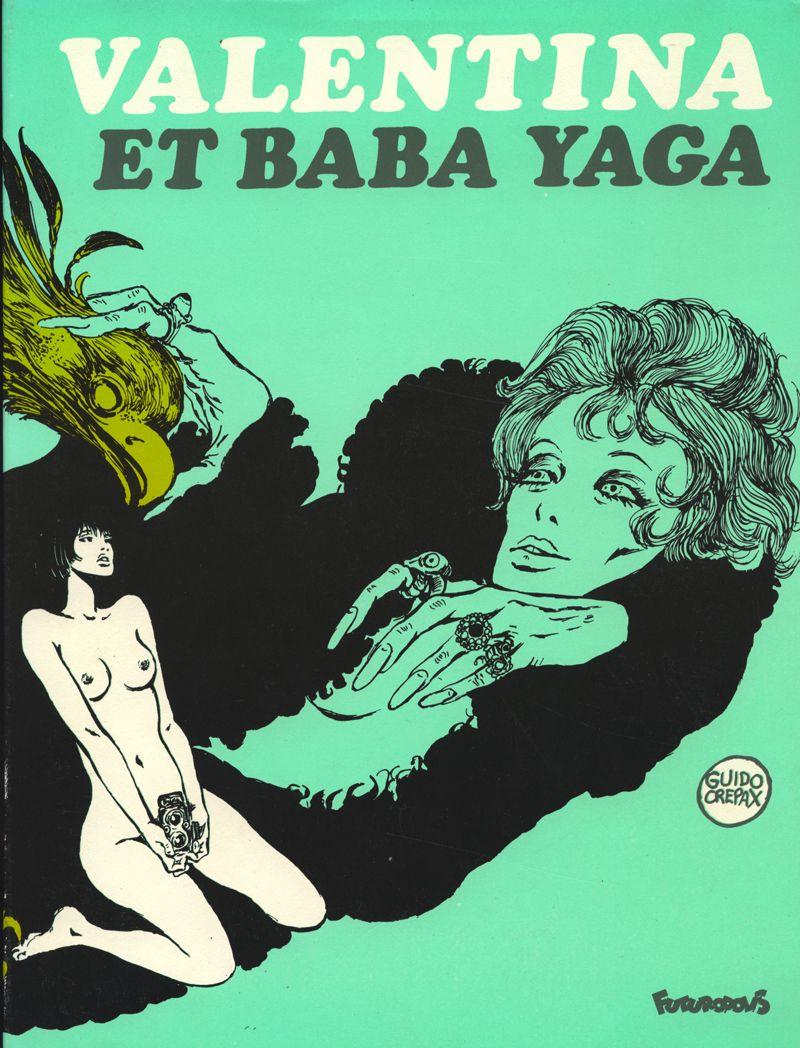Valentina et baba yaga guido crepax comics covers en guida