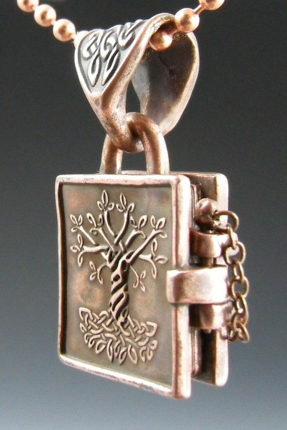 Tree of Life/Book of Kells Necklace...pinned by ♥ wootandhammy.com ...