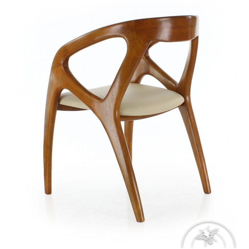 Chaise Bureau Design Chaise De Bureau Design Scandinave Cuir Beige