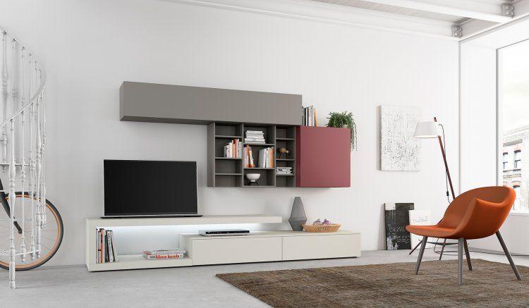 Erin, un modello moderno di mobili soggiorno dalla ...