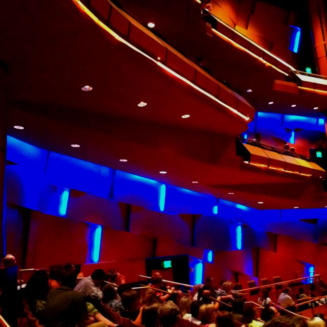 Mesa Arts Center balcony section stage right