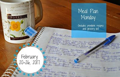 Darcie's Dishes: Meal Plan Monday: 2/20-2/26/17 ~ A one week meal plan that is 100% Trim Healthy Mama compliant. The menu is printable and features a printable shopping list as well.