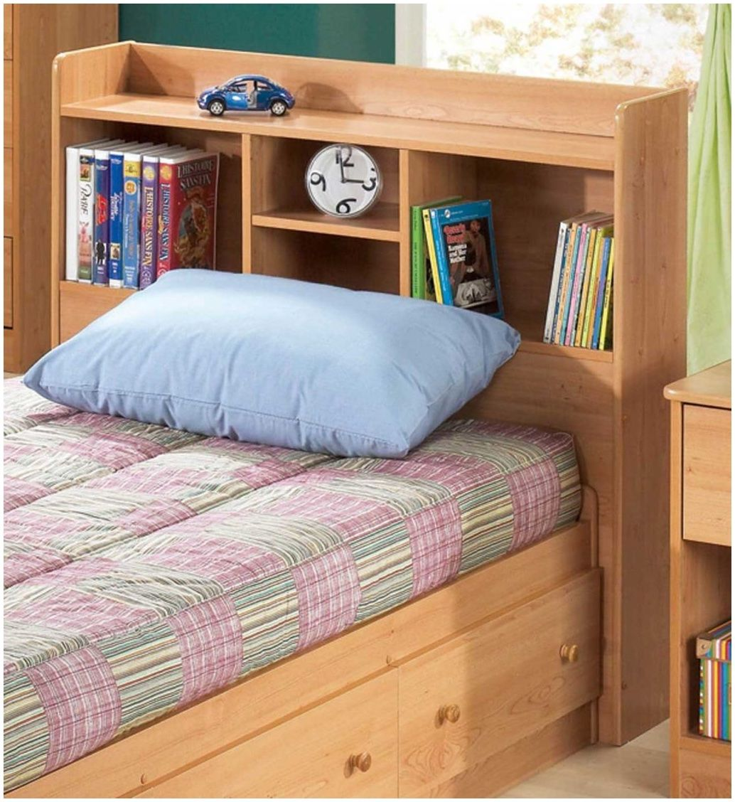 Single Bed With Bookcase Headboard Best Color Furniture For You