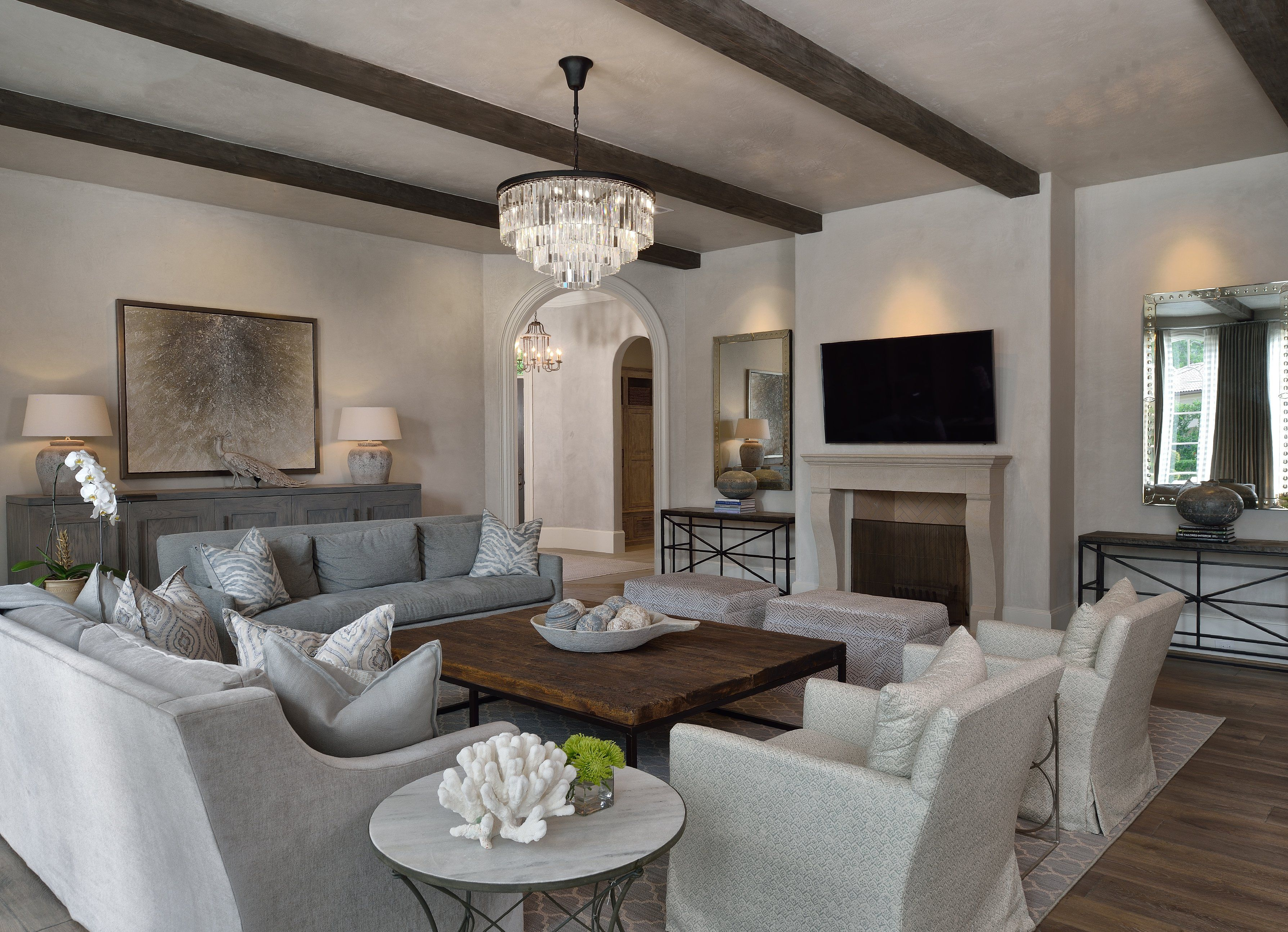 Spending More Time Indoors Isn T As Much Of A Hardship When You Have A Well Decorated Living Room To Relax In Home Formal Living Rooms Living Room Decor