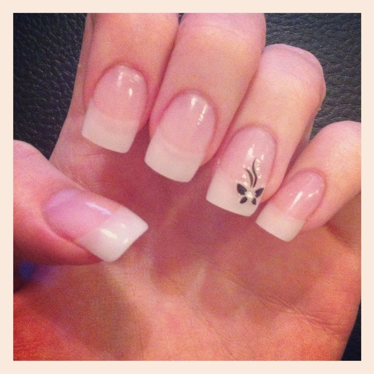 natural nail design - Google Search | nail art | Pinterest | Natural ...