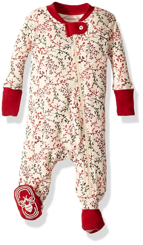 e289677a9 AmazonSmile  Burt s Bees Baby - Unisex Baby Sleeper Pajamas