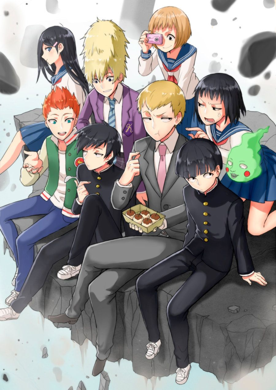 Mob Psycho by Monotsuki (With images) Mob psycho 100