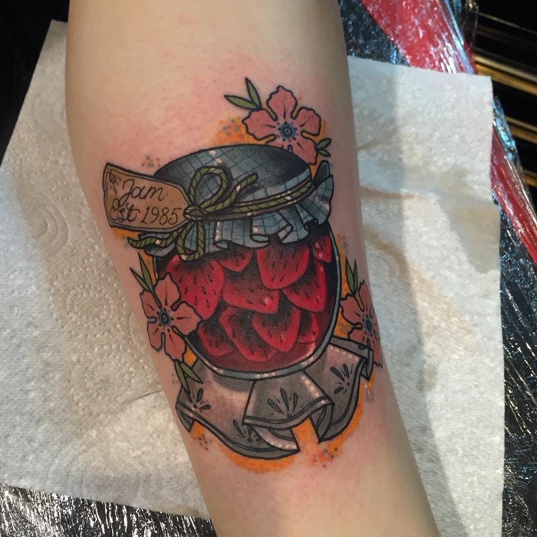 Little Jam Jar Tattoos Mason Jar Tattoo Pinterest Tattoo
