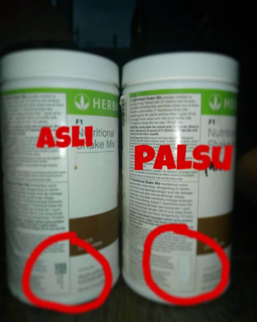 Produk asli hanya ada di distributor resmi Herbalife
