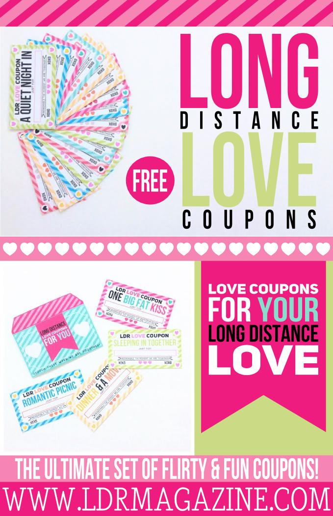 long distance love coupons  u2013 free printable