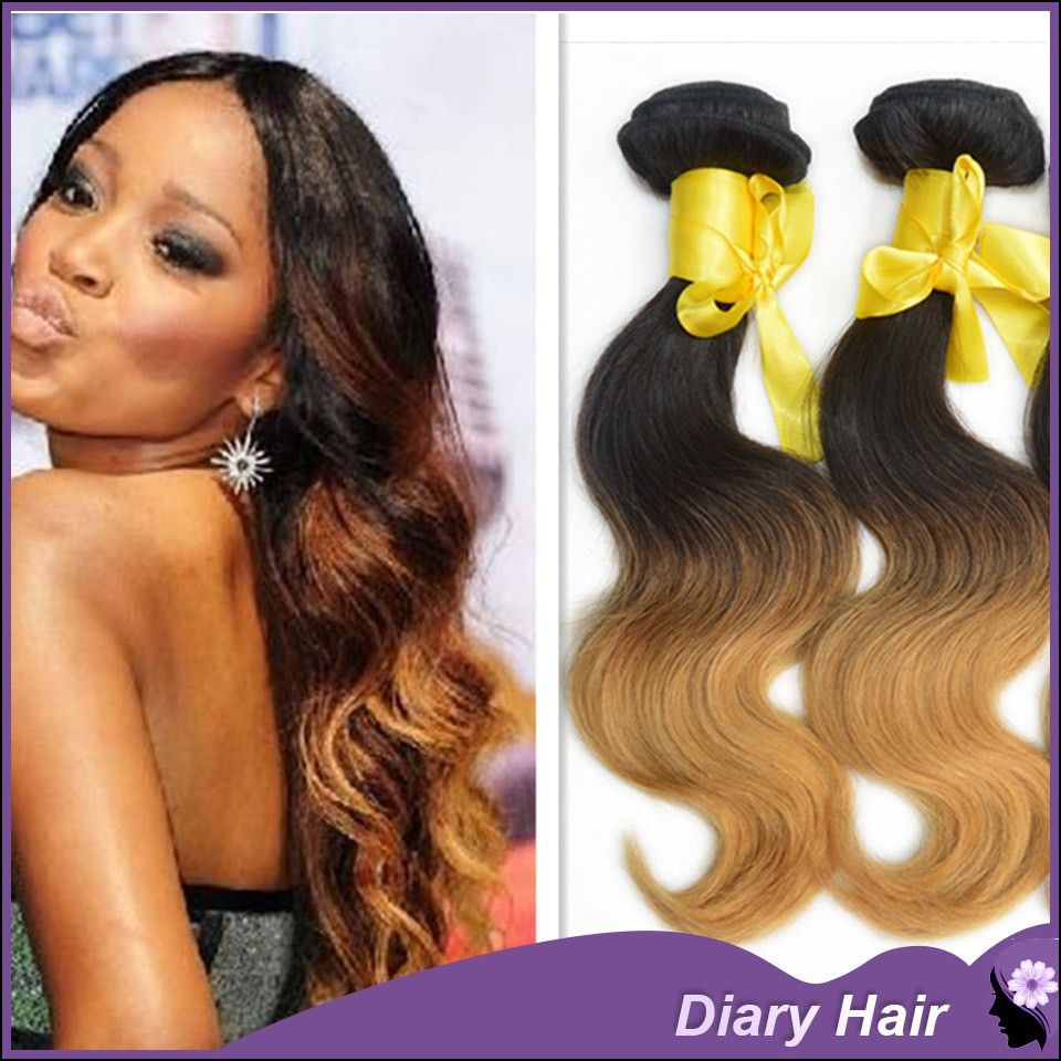 Two Toned Weave Hair Hairstyle Inspirations 2018