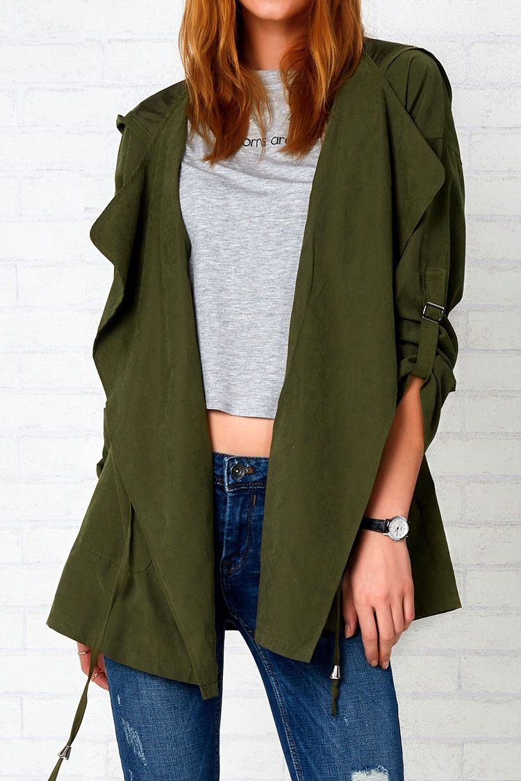 Cupshe Love the Nightlife Hooded Cardigan | Clothes | Pinterest ...