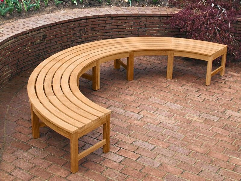 Pleasant Curved Backless Bench Fsc Certified Garden In 2019 Lamtechconsult Wood Chair Design Ideas Lamtechconsultcom