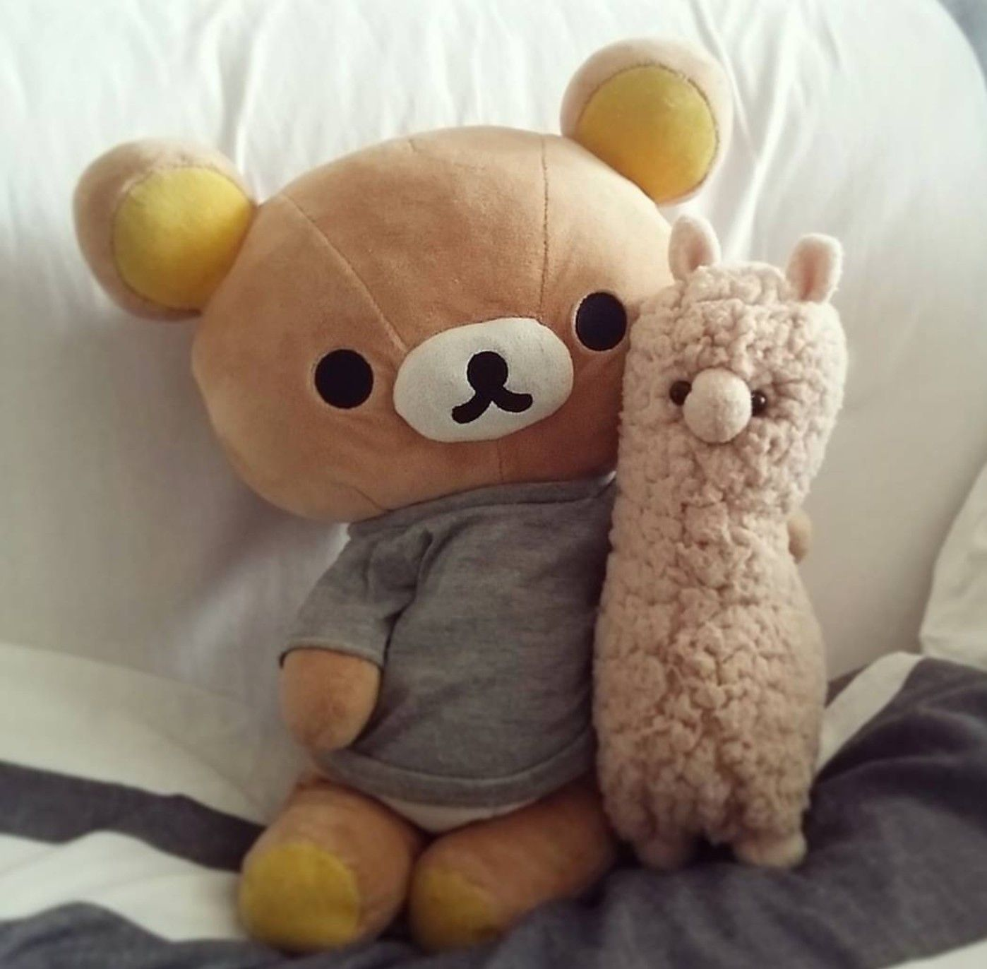 Rilakkuma Pinterest Ashshila Kawaii Plushies Kawaii Plush Cute Stuffed Animals