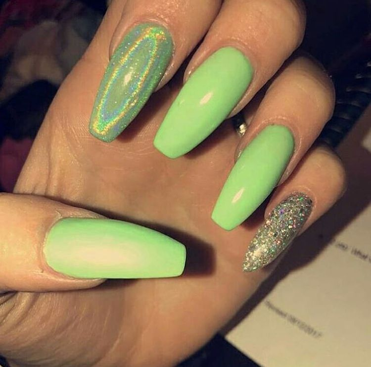 Pinterest and IG @jaelynstlewis ✨ | Nails | Pinterest | Uñas largas ...
