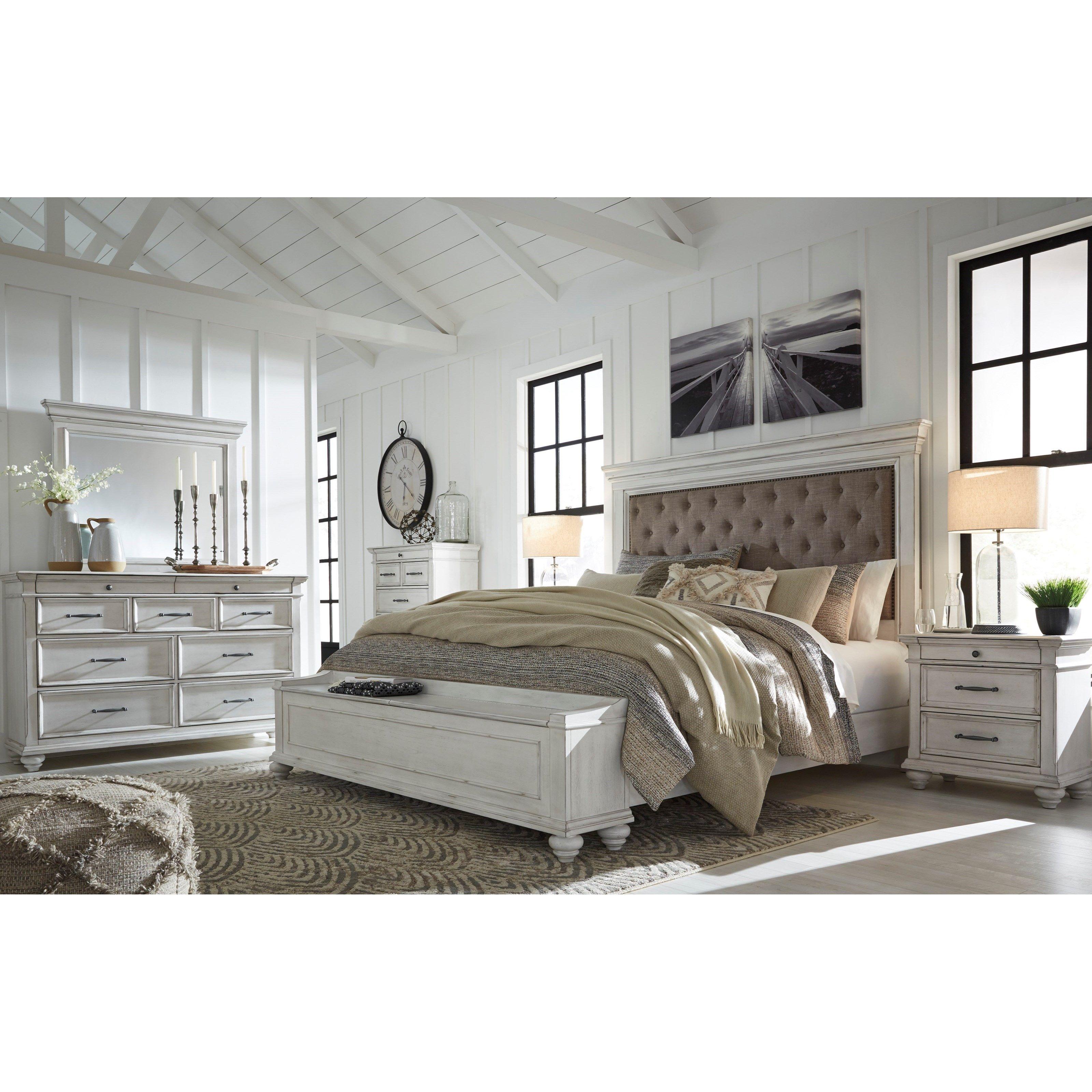 Kanwyn Queen Bedroom Group By Benchcraft At Miskelly Furniture King Bedroom Sets Bedroom Set Bedroom Sets Queen