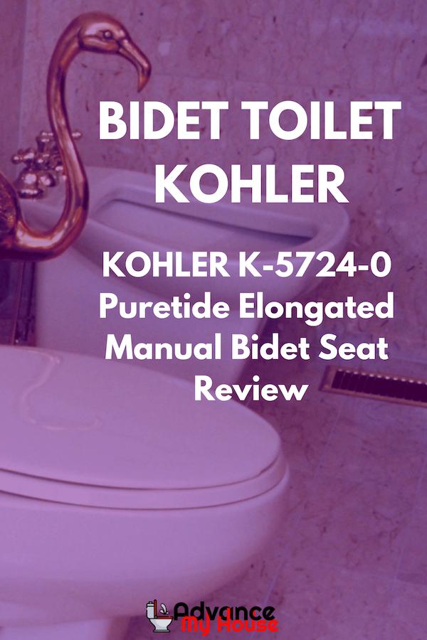 Kohler K 5724 0 Puretide Elongated Manual Bidet Seat Review New