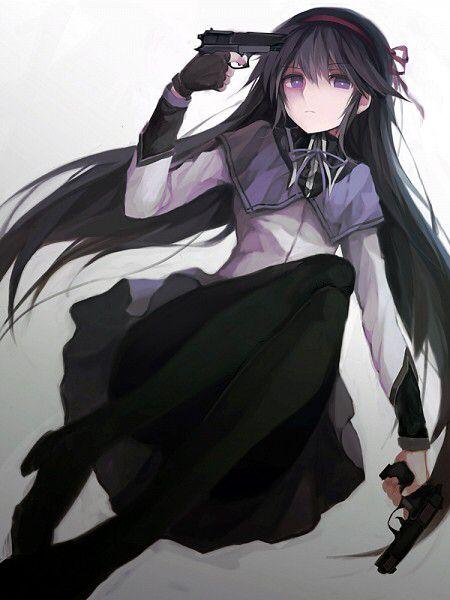 Akemi Homura Puella Magi Madoka Magica Character Board 1