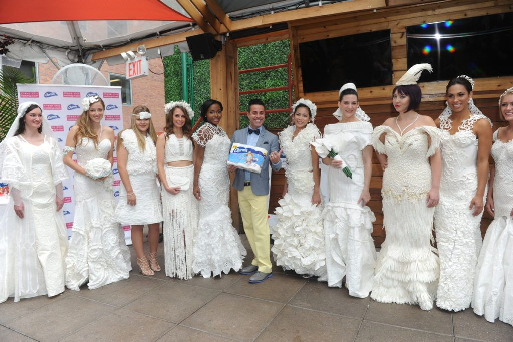 12th Annual Toilet Paper Wedding Dress Contest presented by Cheap Chic Weddings…