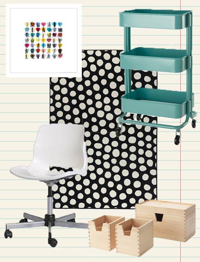Ikea Dorm Room Ideas: Dorm Decor From IKEA #IKEA #dormdecor #dorm #college