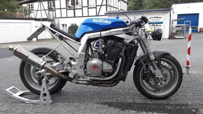 1139 besten Cafe Gixxer (Suzuki GSX-R Custom Cafe Racer