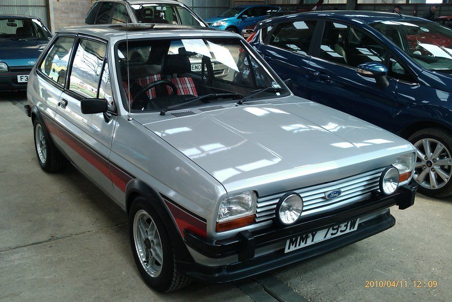 Ford Fiesta Mk1 This Is The Fiesta Super Sport Before The Xr2 Was