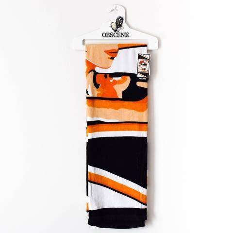 Premium Cotton Velour Beach Towel - Who's That Girl