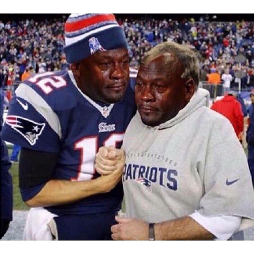 Welp. cryingjordanface tombrady patriots nfl football