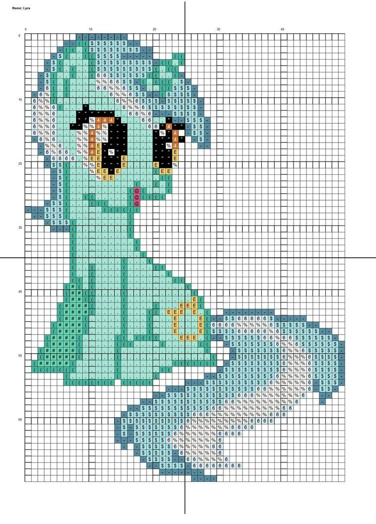 deviantART: More Like Pinkie Pie Filly Cross Stitch Pattern by ...