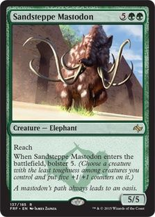 $.25 Sandsteppe Mastodon