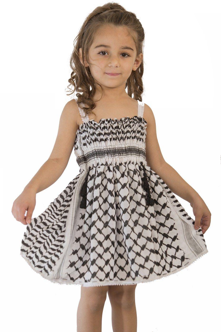 فستان أطفال الكوفية الفلسطينية متجر السندس Traditional Outfits Clothes Design Summer Dresses