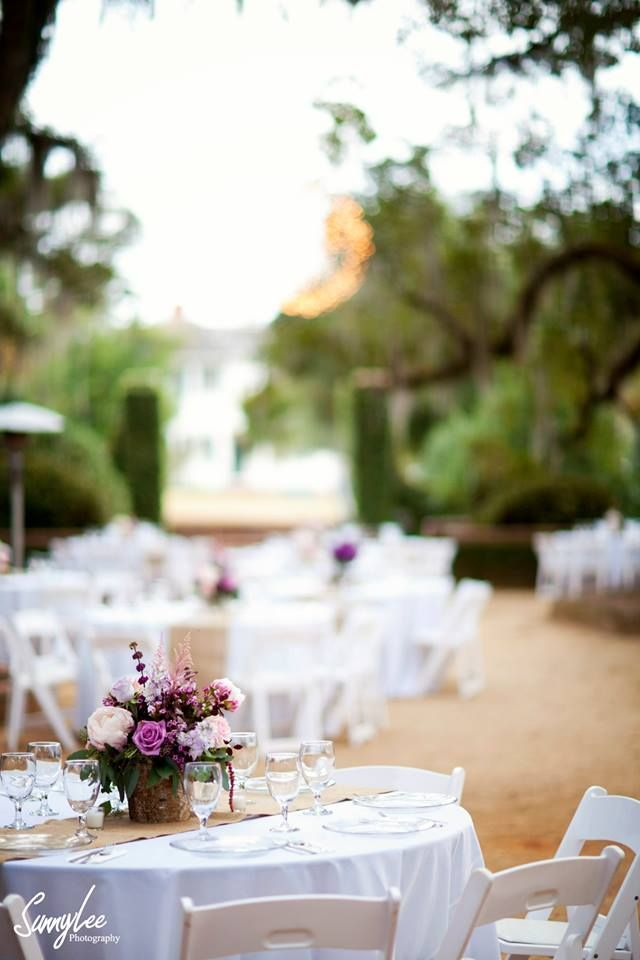 Venue for southern wedding: Pebble Hill Plantation.