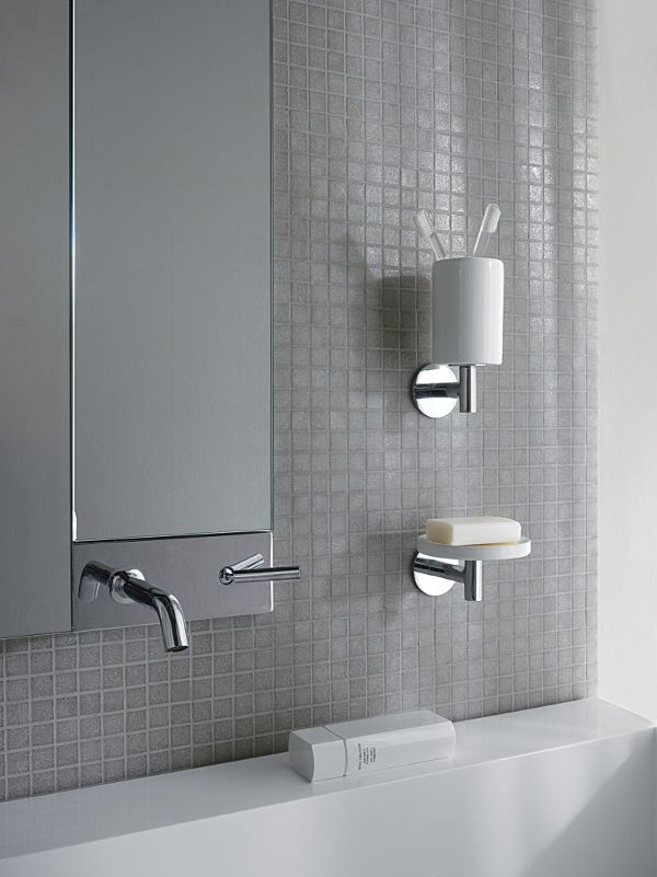 PAN #tap #faucet designed for Zucchetti | #Palomba #bathroom #design