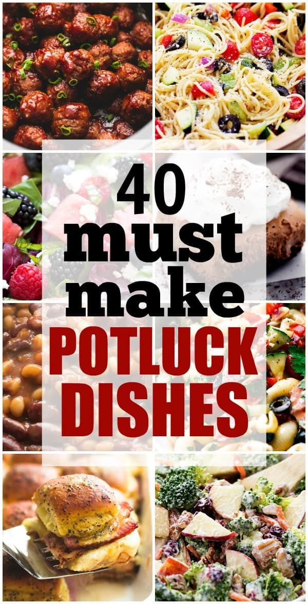 40+ Must Make Potluck Dishes | The Recipe Critic